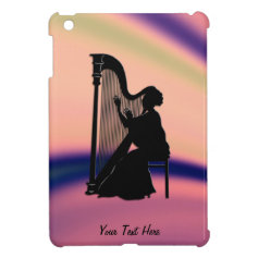 Harp Player Mini iPad Case iPad Mini Cover