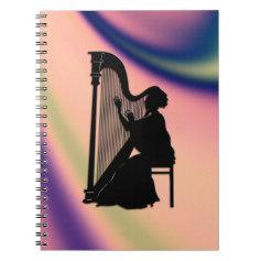 Harp Player Notebook