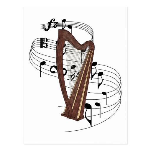 Harp Postcards