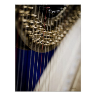 Harp Poster