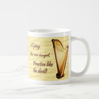 Harp Practice Mug