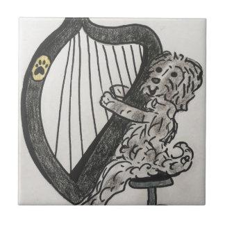 Harp puppy tile