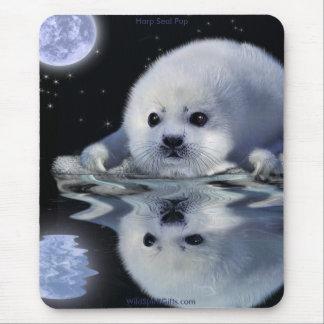 HARP SEAL Anti-Sealhunt Wildlife Mousepad