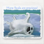 HARP SEAL BABY MOUSE PAD