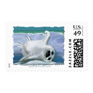 HARP SEAL BABY POSTAGE