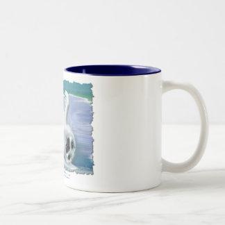 HARP SEAL BABY Two-Tone COFFEE MUG