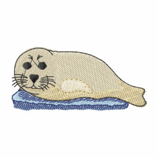 Harp Seal Embroidered Hoody
