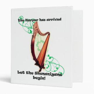 Harp Shenanigans Binder