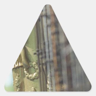 Harp Triangle Stickers
