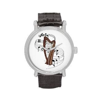 Harp Wrist Watches