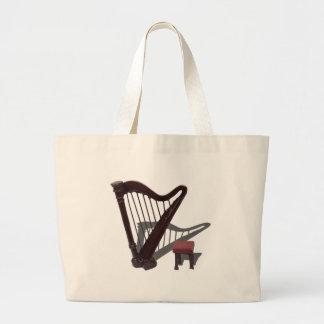 HarpAndBench121210 Bolsa De Tela Grande