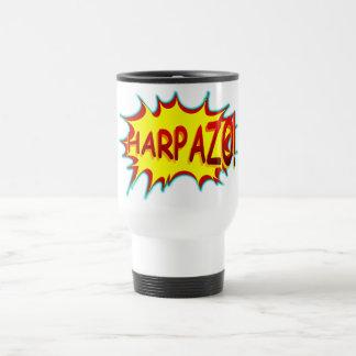 HARPAZO! (Rapture) 15 Oz Stainless Steel Travel Mug