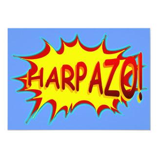 HARPAZO! (Rapture) 5x7 Paper Invitation Card