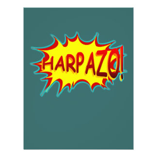 "HARPAZO! (Rapture) 8.5"" X 11"" Flyer"
