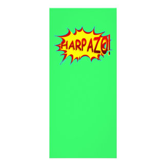 HARPAZO! (Rapture) Personalized Rack Card