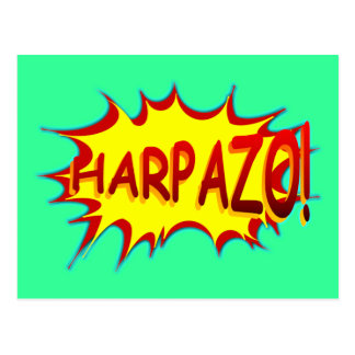 HARPAZO! (Rapture) Postcard