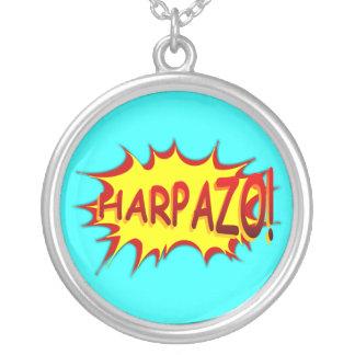 HARPAZO! (Rapture) Round Pendant Necklace