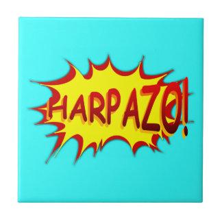 HARPAZO! (Rapture) Small Square Tile