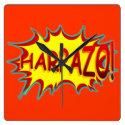HARPAZO! (Rapture) Wallclocks