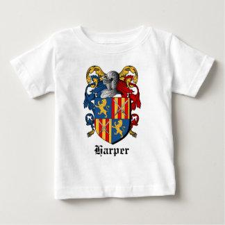 HARPER COAT ARMS - harper family crest Baby T-Shirt
