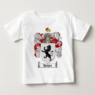 HARPER COAT OF ARMS - harper family crest Baby T-Shirt