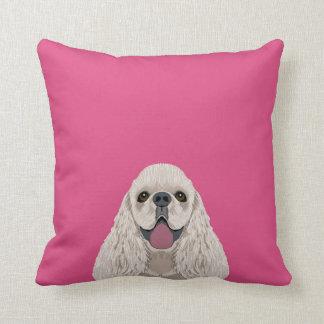 Harper - Cocker Spaniel pillow gift for dog people