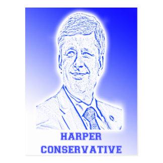 Harper Conservative Postcard