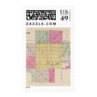 Harper County, Kansas Postage Stamp