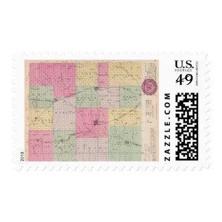 Harper County, Kansas Postage