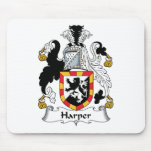 Harper Family Crest Mouse Pad