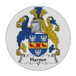Harper Family Crest Poker Chips