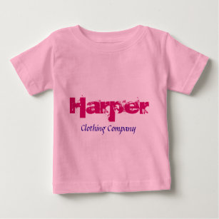 With Name Harper Baby Clothes Shoes Zazzle