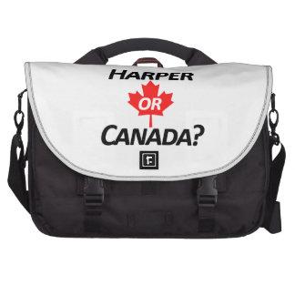 ¿Harper o Canadá? Mercancía Bolsas Para Portátil