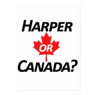 ¿Harper o Canadá? Mercancía Postal