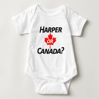 ¿Harper o Canadá? Mercancía Remeras