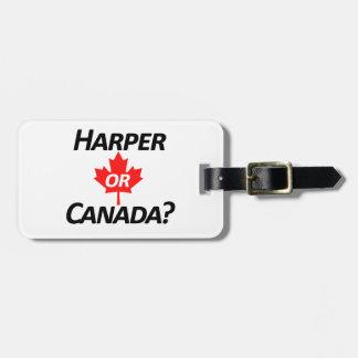 Harper or Canada? Merchandise Bag Tag