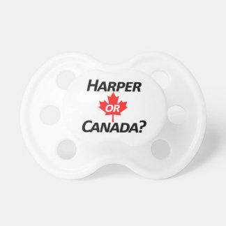 Harper or Canada? Merchandise Pacifier