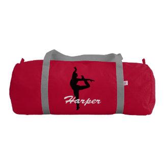 Harper personalized duffle gym dance bag gym duffel bag