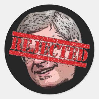 Harper Rejected Classic Round Sticker
