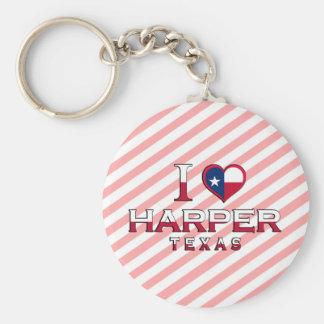 Harper, Texas Key Chain