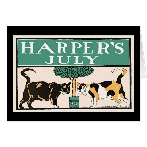 Harper's Cats Card