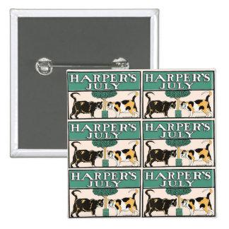 Harper's Cats Pinback Button