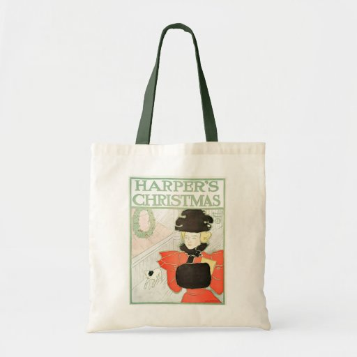 Harper's Christmas budget tote Budget Tote Bag