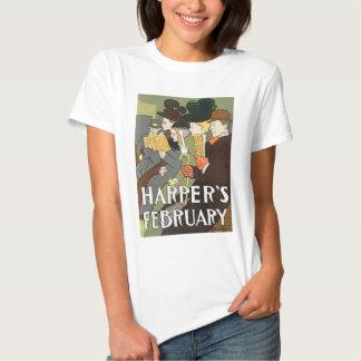 Harper's Feb babydoll T Shirt