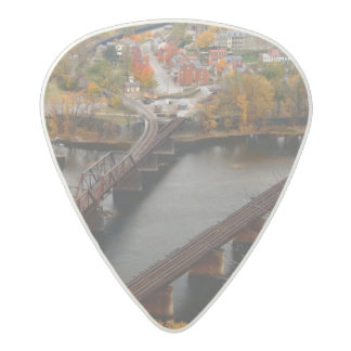 Harpers Ferry in the Fall Acetal Guitar Pick