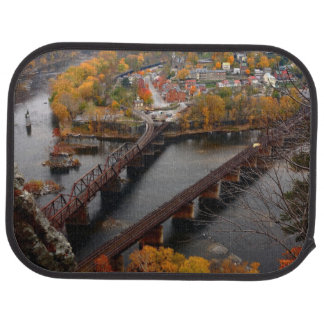 Harpers Ferry in the Fall Car Mat