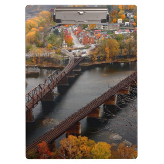 Harpers Ferry in the Fall Clipboard