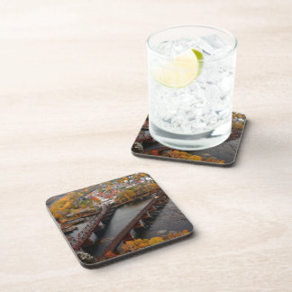 Harpers Ferry in the Fall Beverage Coasters