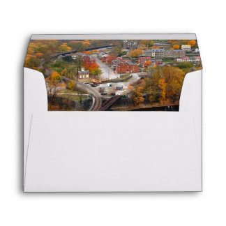Harpers Ferry in the Fall Envelope