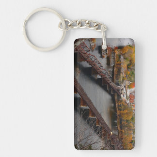 Harpers Ferry in the Fall Keychain